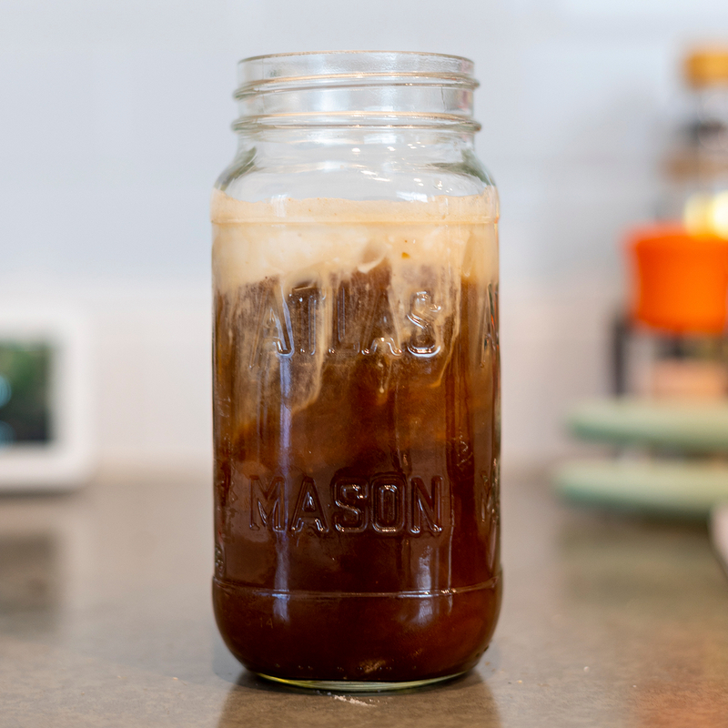 Coconut Milk Sea Salt Cream Cold Brew